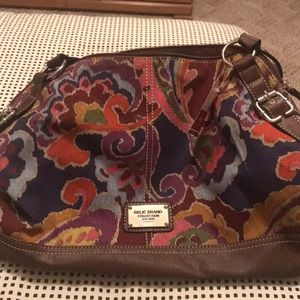 NWT Relic Bleeker Shopper Paisley purse